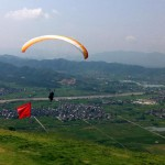 Paragliding in Zhejiang Province