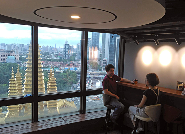 Jing'an Temple Modern Classrooms